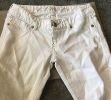 EXPRESS WOMEN'S WHITE PANTS  LEGGINGS   SIZE 0 PRE OWNED