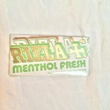 Lot of 2 Vintage /New Unused Rizla Menthol Fresh Tobacco Rolling Paper