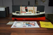 TUCHER WALTHER t490 hamburg live steam boat LIMITED EDITION of 1000  2006