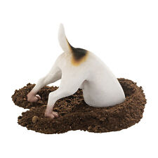 Puppy Dog Terrier Breed Man's Best Friend Digging a Hole Canine Animal Sculpture
