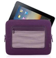 """Belkin Neoprene Sleeve Pouch Case for iPad 1/2/3/4/Air & 10"""" Tablet (Purple)"""