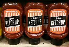 Lot of 4 new Whataburger 20oz spicy ketchup H-E-B TX exp.2019