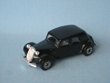 Matchbox Citroen 15CV Black Body Made in England Base Unboxed