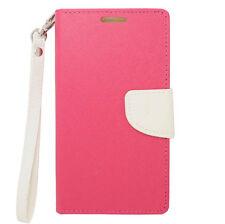 For ZTE Warp Elite N9518 Leather Wallet Flip Case Cover Folio w/ Card Holder