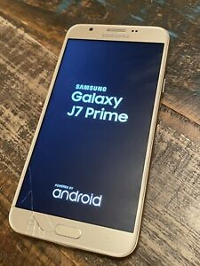 Samsung Galaxy J7 Prime 16GB Champagne Gold (T-Mobile) + Xtra-As-Is