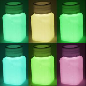lumentics - Leuchtfarbe, sehr helle Nachleuchtfarbe, Glühfarbe, DIY, Bastelfarbe