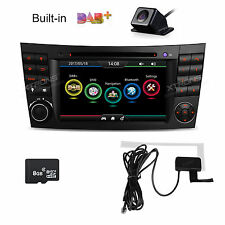 For Mercedes Benz E-W211 Built-in DAB+ Tuner DVD GPS Player Car Stereo Radio OBD