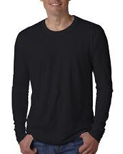 Next Level Apparel Mens Long Sleeve Premium Crew Neck T-Shirt - N3601 Tee S-2XL