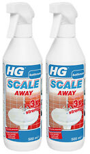 HG Hagesan 500ml 3 x Stronger Scale Away Twin Pack