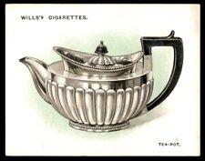 Wills Old Silver 1924 - Tea Pot (1802) No. 24