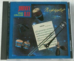 JOHNNY RAY SALSA CON CLASE/ NIGHTGOLD CD 1989 CAPITOL EMI LATIN SALSA RARE OOP.