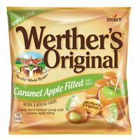 NEW Werther's Original Caramel Apple Filled Hard Candy Creamy Center 10 xbags***