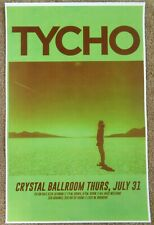 TYCHO 2014 Gig POSTER Portland Oregon Concert