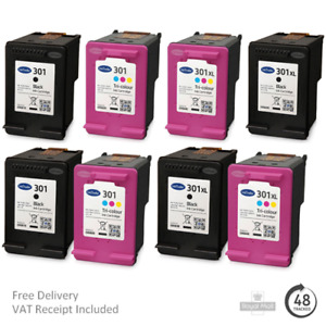 Remanufactured HP 301 & 301XL Ink Cartridges For HP OfficeJet 4630 Printers