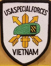 SPECIAL FORCES VIETNAM Patch W/ VELCRO® Brand Fastener Tactical Military  #9