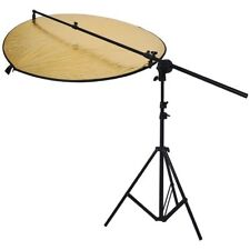 Phot-R 3m Light Stand Collapsible Reflector Holder 110cm 5-in-1 Studio Reflector