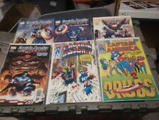 RX5012003 MARVEL COMICS BOOK LOT OF 45 CAPTAIN AMERICA TITLES BOX 77 RX5012003