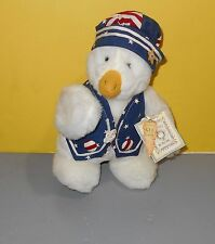 """1998 Bunnies by the Bay 10"""" Plush Emerson Spangled Duck Signed Numbered"""