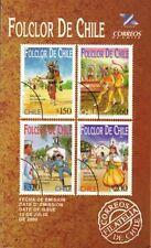 Chile 2000 Brochure Folclor de Chile Bailes tradicionales