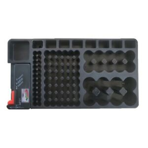 Lovoski 110 Battery Storage Organizer Box Case and Tester Removable Kits
