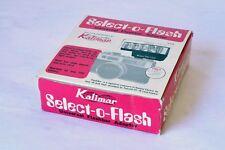 1974 Kalimar universal camera flash adapter Select-o-Flash k-444 Japan New