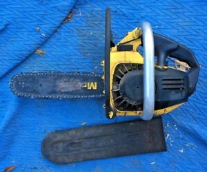 Great Little McCulloch Mac 110 Chainsaw It Works