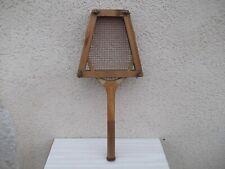 Ancienne raquette de tennis en bois Pretty / déco / collection