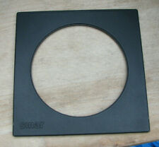 genuine Sinar F & P  lens board panel with large 102mm hole