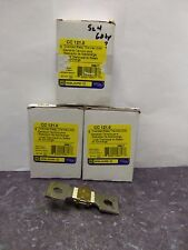New Lot Square D CC 121.0 Overload Relay Thermal Unit NIB