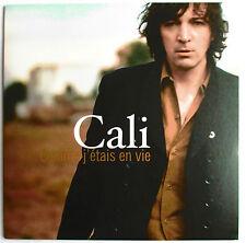 "CALI - CD SINGLE PROMO ""COMME J'ÉTAIS EN VIE"""