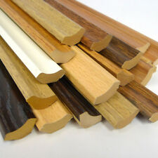 Laminate Flooring Scotia Beading, BEECH - CHERRY - WALNUT - OAK - WHITE £1 Each