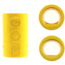 Bowlingball Fingereinsätze Vise Grip Ultimate Power-Lift / Oval Inserts, gelb