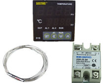 Sestos D1S-VR-220 Digital Pid Temperature Controller thermostat + pt100 +25 ssr
