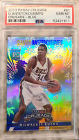 Giannis Antetokounmpo Rookie 2013 Panini Crusade-Blue PSA 10 (POP 72 for PSA 10)