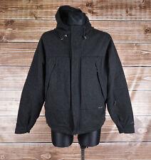Ralph Lauren Polo Sport Gore Windstopper Men Wool Jacket Coat Size L, Genuine