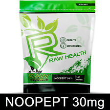 RAW Powders 30mg 100 Tab - Nootropic Brain Booster Focus Memory Concentration