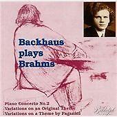Plays Brahms Vol.2, Wilhelm Backhaus, Very Good