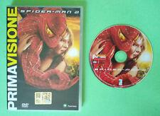DVD Film Ita Fantascienza SPIDER-MAN 2 marvel tobey maguire no vhs cd lp mc (T4)