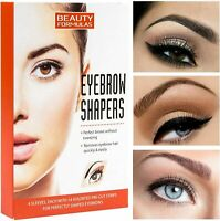 Beauty Formulas Eyebrow Shapers 56 - Pre Cut Strips For Perfect Shaped Eyebrows
