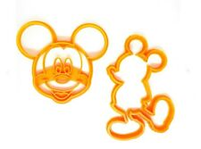 Mickey Mouse and Minnie Mouse Cookie Cutters