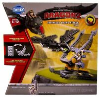 IONIX How To Train Your Dragon 2 Toothless Viking Attack Ages 6+ Toy Play Plane