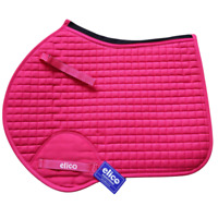 Elico Close Contact Style SADDLECLOTH Saddle Pad | Berry | VENTED Spine QUILTED