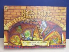 complete HARRY POTTER BOARD GAME mystery Hogwarts castle PHILOSOPHERS STONE X90