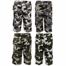 Polyester Camouflage Shorts (2-16 Years) for Boys