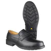 Amblers FS46 Occupational Office Slip-On Safety Shoe  6-14 