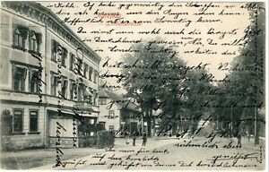 GermanyPostcard 1908 Germany Amenau Lindenstrasse