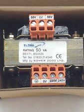 SOMER 2000 ST50/240/110   PANEL TRANSFORMER  RATING: 50VA (A819)