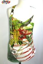 DESIGUAL - TOP FITTINGS MULTICOLORED SIZE S = 36 - MINT