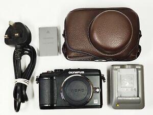 Olympus PEN E-PL2 12.3MP Digital Camera - Black (Body Only) **981 shots**