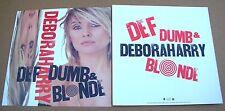 Deborah Debbie Harry Blondie Def Dumb. 2 Sided Promo 12x12 Poster Flat 1989 M-